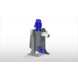 Вертикальный шнековый сепаратор(микрофильтр) SEPCOM® MFT